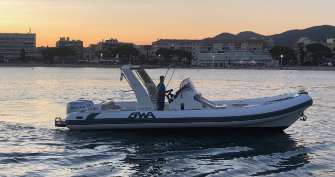 Semi-rigide à louer à Sainte-Maxime au meilleur prix