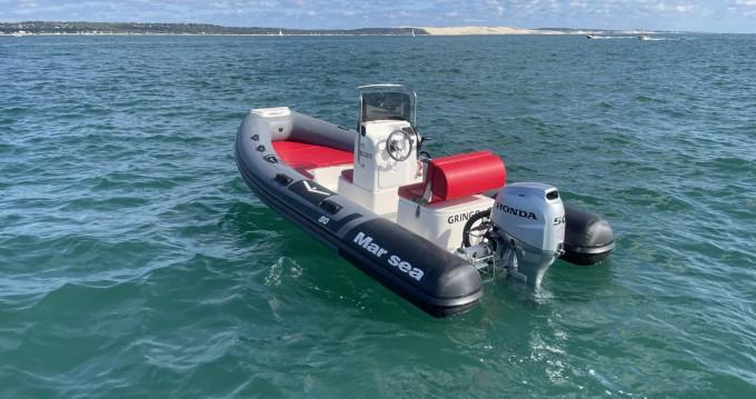 Louer Semi-rigide avec ou sans skipper Marsea à Cap Ferret