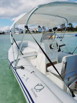 Location bateau Zodiac Cadet 390 à Formentera sur Samboat