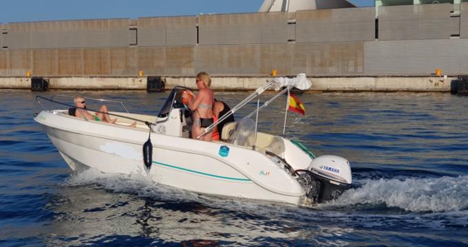 Location Bateau à moteur à Alicante - Marinello Fisherman 16