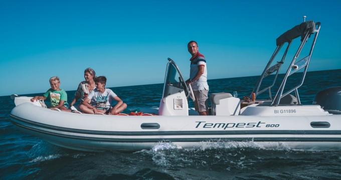 Location bateau Capelli Tempest 600 Open à Palavas-les-Flots sur Samboat