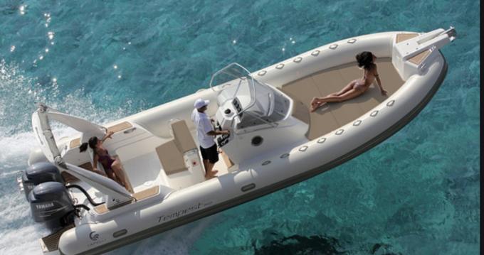 Location yacht à Sainte-Maxime - Capelli Tempest 850 Open sur SamBoat