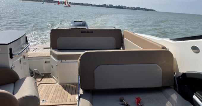 Location yacht à Royan - Quicksilver Activ 755 Cruiser sur SamBoat
