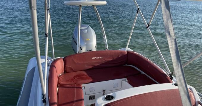Location bateau Cap Ferret pas cher Golden Line G650LF