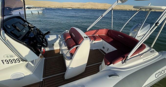 Louer Semi-rigide avec ou sans skipper Grand Boats à Cap Ferret