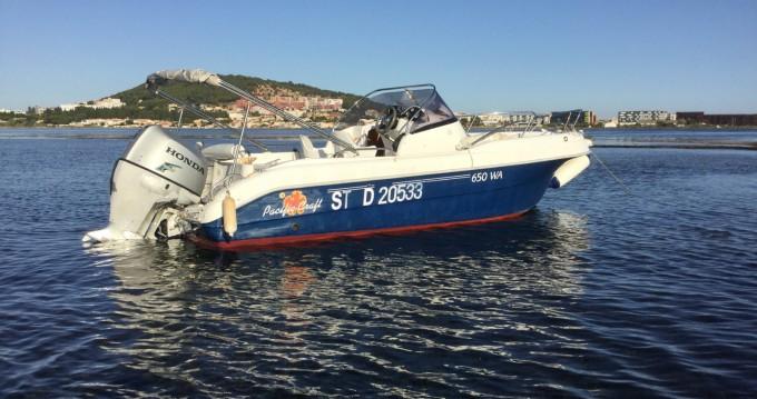 Location yacht à Port de Sète - Pacific Craft Pacific Craft 650 WA sur SamBoat