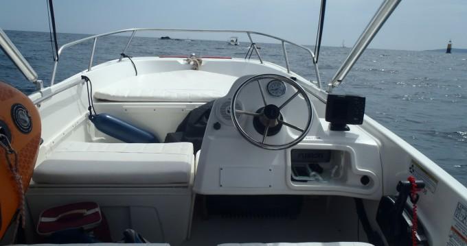 Location bateau Les Issambres pas cher Boston Whaler 170 super sport