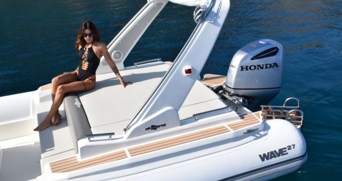 Location bateau Palerme pas cher Wave 27