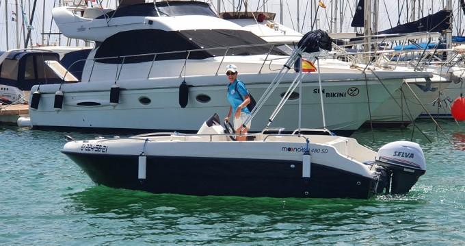 Location Bateau à moteur à Cabo Roig - Remus Remus 450 open