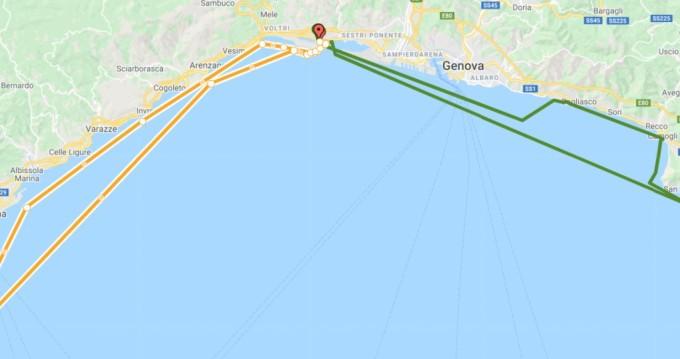 Location Bateau à moteur à Genova - Menorquin-Yachts Menorquin 100