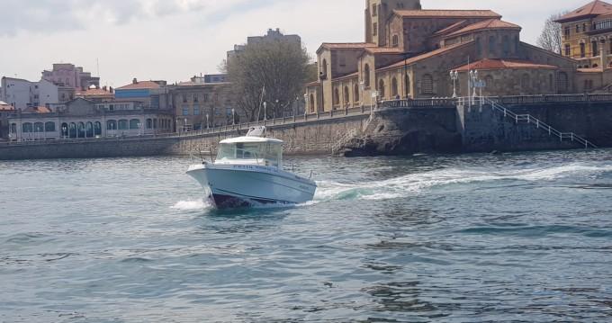 Louer Bateau à moteur avec ou sans skipper Mery Nautic à Fuejo (Gijon)