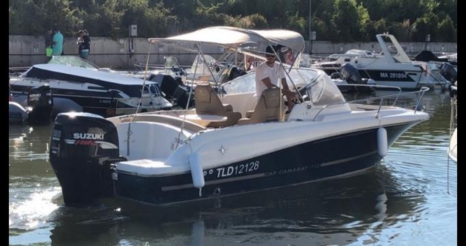 Location bateau Jeanneau CAP CAMARAT à Gapeau sur Samboat