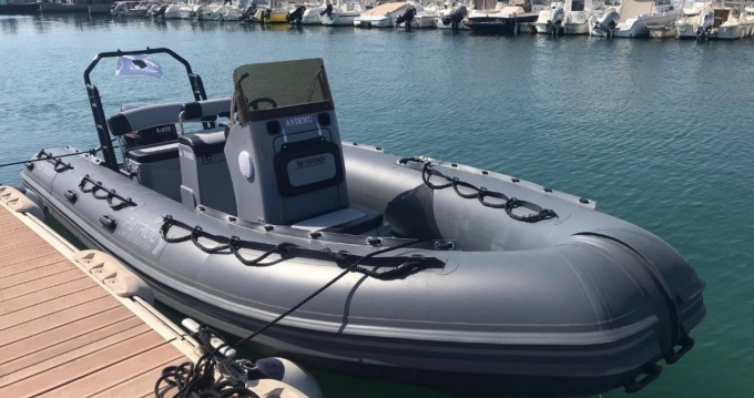 Location bateau Balaruc-les-Bains pas cher 3D Tender 600 Patrol