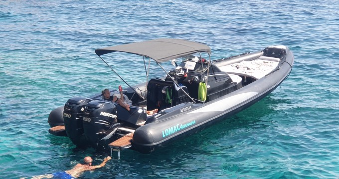 Location bateau Lomac Lomac 1000 Club à Porto-Vecchio sur Samboat