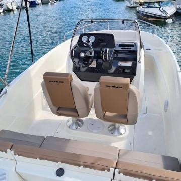 Location bateau Quicksilver Activ 555 Open à Saint-Jorioz sur Samboat