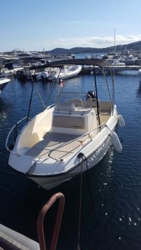 Location bateau Quicksilver Activ 535 Open à Sainte-Maxime sur Samboat