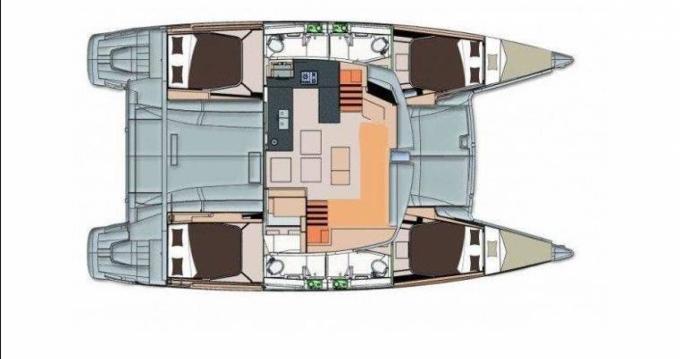 Location bateau Saint Vincent pas cher Helia 44