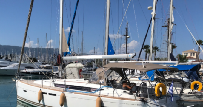 Location yacht à Gouviá - Jeanneau Sun Odyssey 409 sur SamBoat