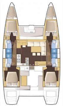 Location yacht à Portocolom - Lagoon Lagoon 450 F sur SamBoat