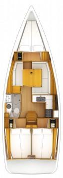 Location bateau Jeanneau Sun Odyssey 389 à Portocolom sur Samboat