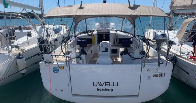 Location yacht à Portocolom - Jeanneau Sun Odyssey 440 sur SamBoat
