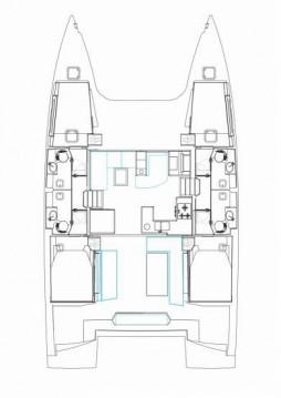 Location bateau Nautitech Nautitech 46 Fly à Palerme sur Samboat