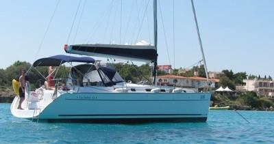 Bénéteau Cyclades 43.4 entre particuliers et professionnel à Anzio