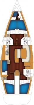 Location bateau Bénéteau Cyclades 50.5 à Anzio sur Samboat