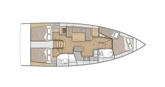 Location bateau Álimos pas cher Oceanis 40.1